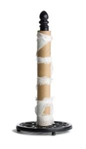 iStock_empty paper towel holder