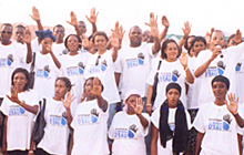 End Water Poverty supporters in Mali.